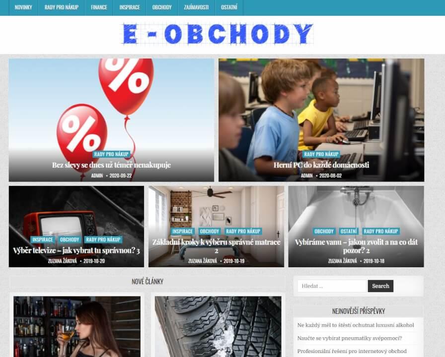 Publikace na E-obchody.eu