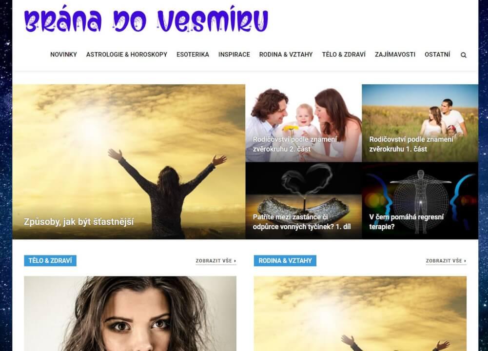 Publikace na Branadovesmiru.cz