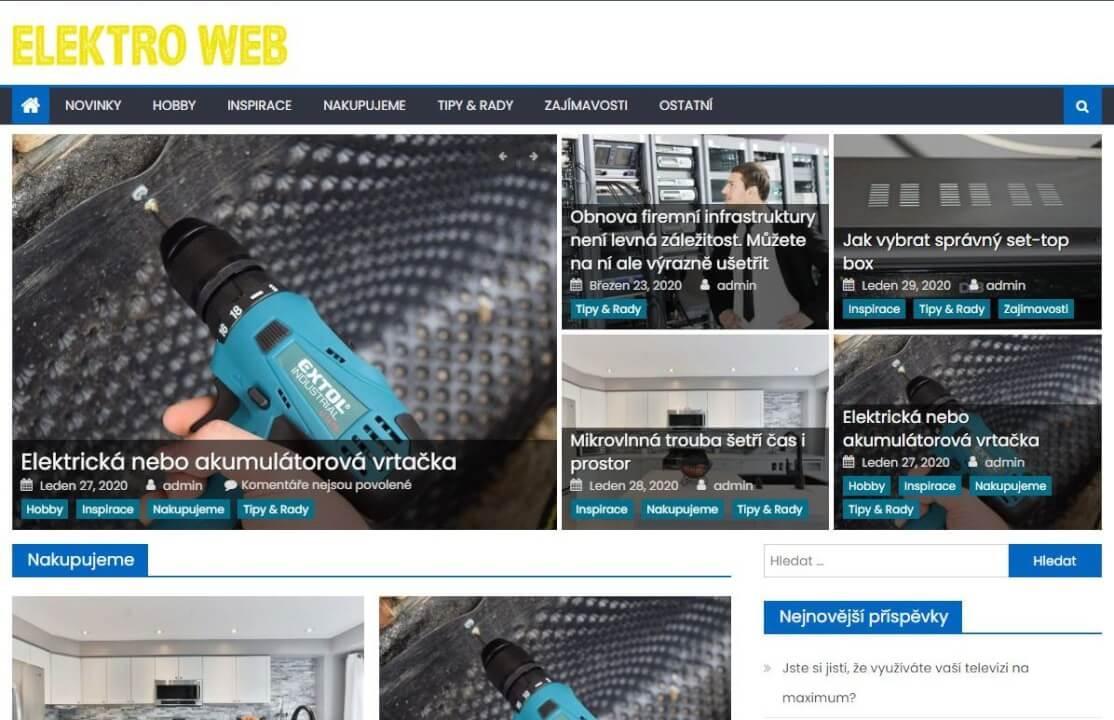 Publikace na Elektro-web.eu