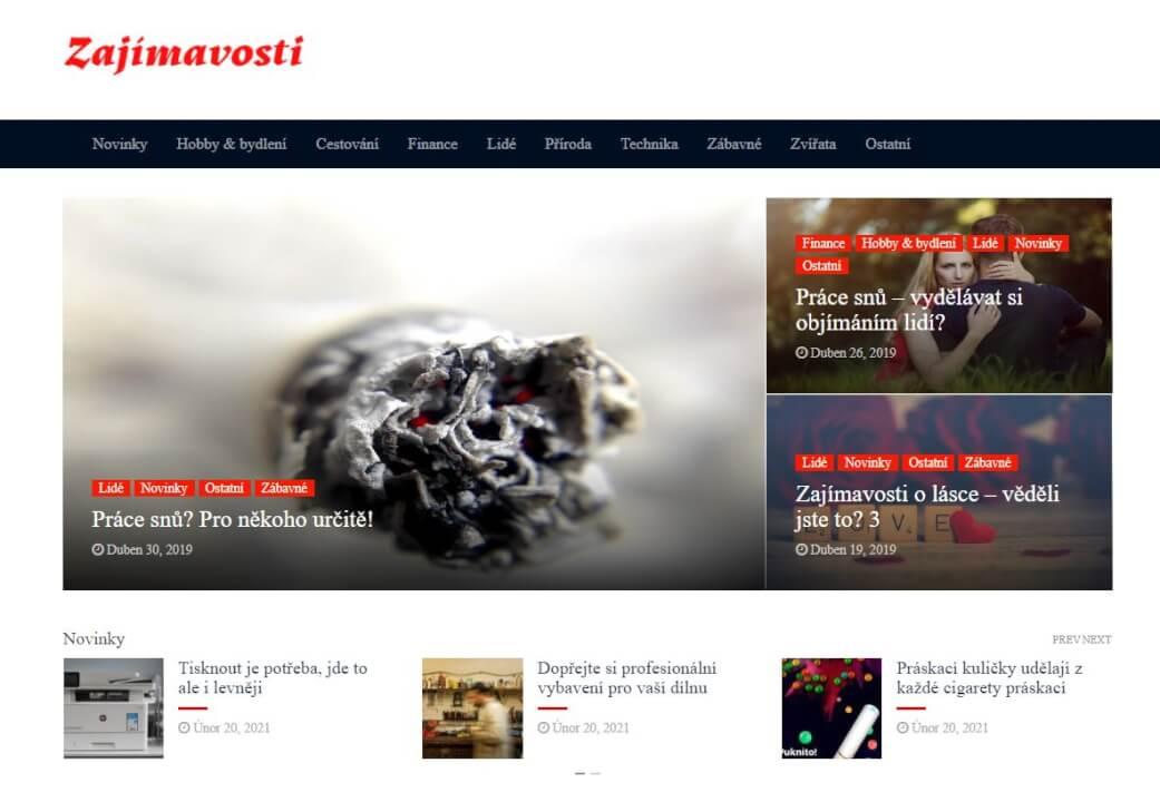 Publikace na Zajimavosti.net