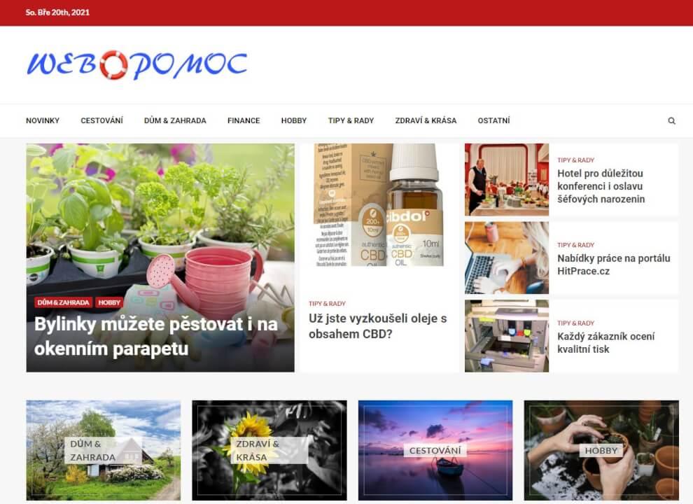 Publikace na Webpomoc.cz