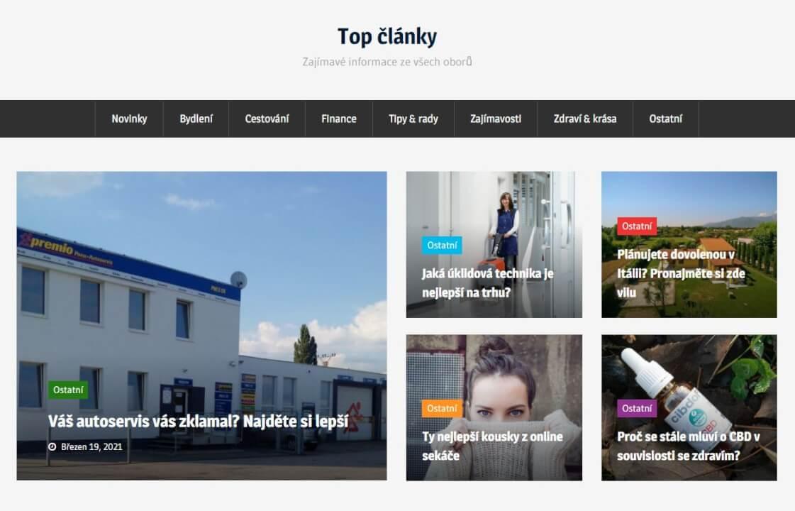 Publikace na Top-clanky.eu
