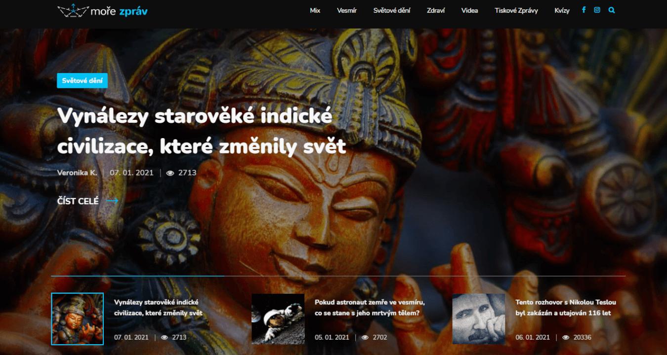 Publikujeme Vaše PR články na webu Moře Zpráv