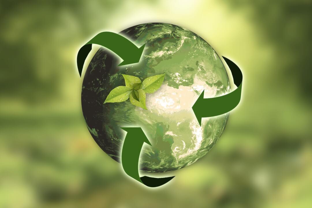 Článek na téma ekologie, udržitelnosti či financí