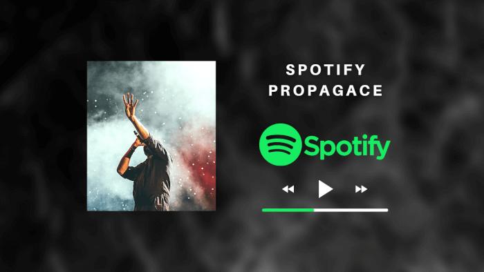 Spotify propagace Vaší hudby na Facebooku nebo Instagramu