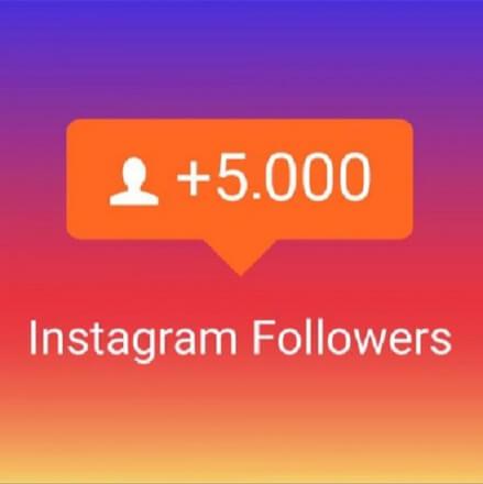 Instagram 5.000+ Followers Sledujících - kvalita, rychlost