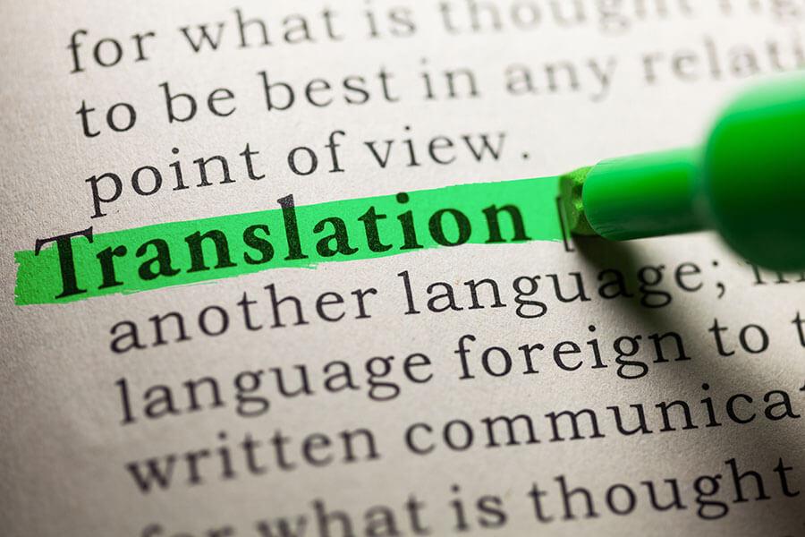 Překlad dokumentu z ČJ do AJ /Translation of document CZ/EN
