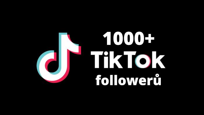 1000+ followers na TikTok