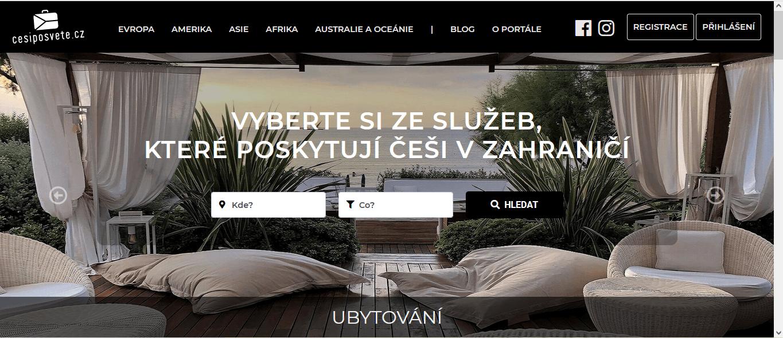 PR publikace článku na cestovatelském webu cesiposvete.cz