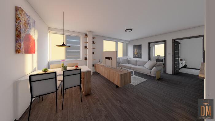 3D vizualiazce interiéru